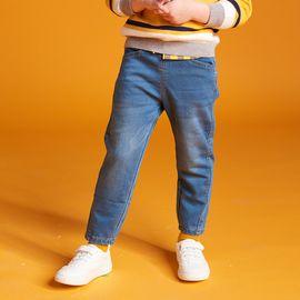 男童长裤 迪士尼-米奇米妮童装2018秋冬季新款男童时尚牛仔裤