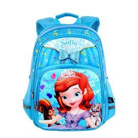儿童书包 迪士尼儿童书包苏菲亚蝴蝶结高档减压书包1-4年级中小学生双肩包