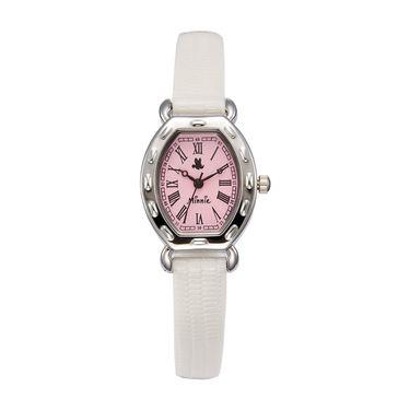 女士石英 迪士尼Disney热卖女款罗马风皮带石英女表舒适皮带女士手表