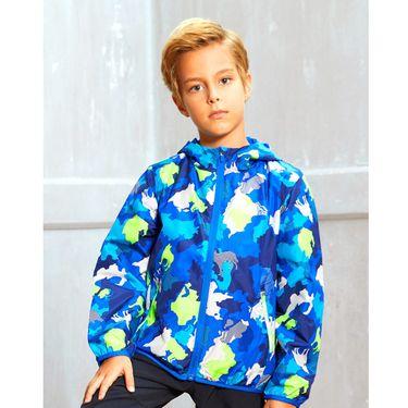 男童运动外套 安踏 男童中大童长袖连帽防风保暖儿童外套 男童童装