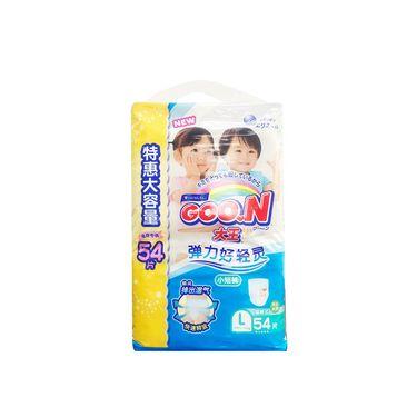 拉拉裤 大王 短裤式纸尿裤 维E系列 L54片电商专供/2包装