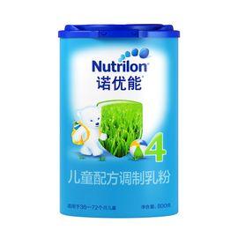 4段奶粉/儿童奶粉 诺优能儿童配方奶粉4段(36-72个月)800g/罐(新老包装随机发货)
