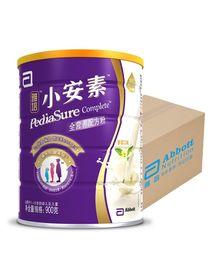 4段奶粉/儿童奶粉 雅培(Abbott)小安素全营养配方粉香草味(1-10岁)900克罐装*4罐