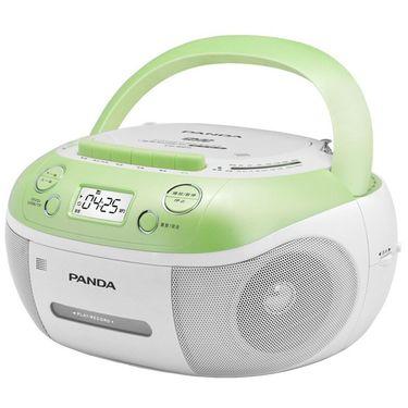 熊猫 DVD光碟磁带USB插卡功能复读机CD-860 绿色