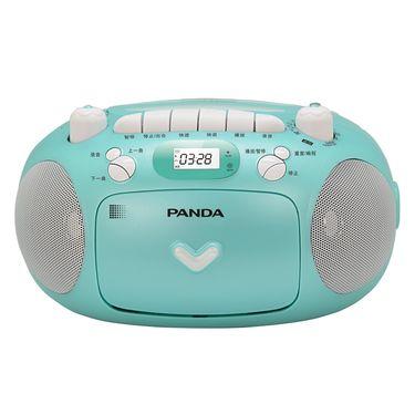 熊猫 CD光碟磁带USB插卡功能复读机CD-209 绿色