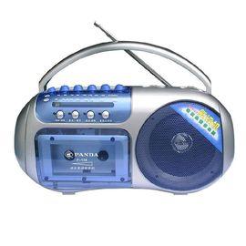 熊猫 AM/FM 2波段磁带收录复读机F-138 银蓝色