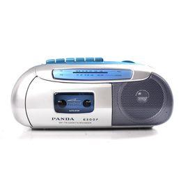 熊猫 AM/FM 2波段磁带收录机6300F 银蓝色