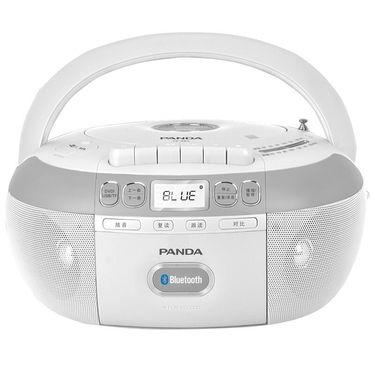 熊猫 蓝牙DVD光碟磁带USB插卡功能复读机CD-880 白色