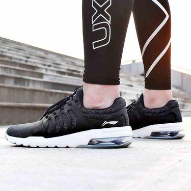 男款跑步鞋 李宁跑步鞋男鞋正品2018夏季新款网面反光运动鞋男气垫透气休闲鞋