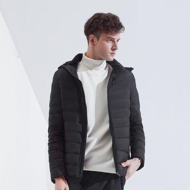 男式羽绒服 2018新款羽绒服男士短款防寒连帽外套保暖潮流外套