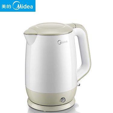 美的MIDEA 家用电热水壶电水壶烧水壶HP1501A不锈钢1.5L