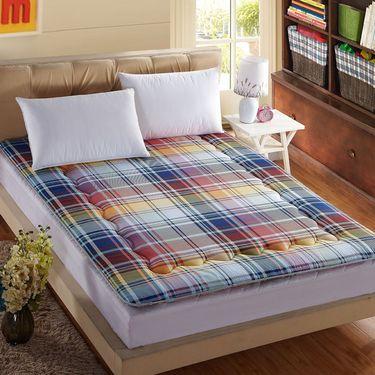 苏吉思 加厚条纹全棉榻榻米床垫被学生宿舍单双人床褥可折叠软垫子CW-61
