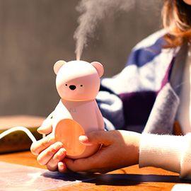 BlingBelle /贝琳贝儿 小熊加湿器贝尔迷你家用办公室卧室香薰机 送香薰精油3瓶