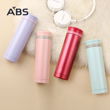 ABS 爱彼此 Aimee双层不锈钢真空保温杯 多色随机