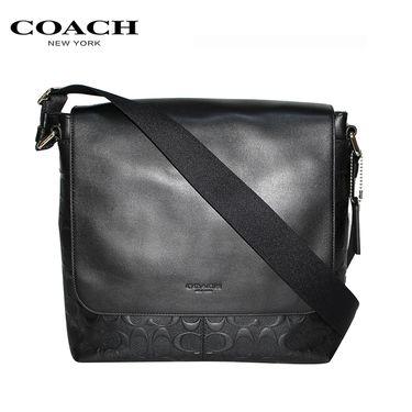 COACH /蔻驰 男士单肩包 F72220 美国进口 商务之选 洲际速买