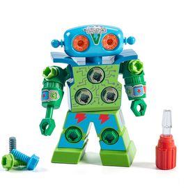 LEARNING RESOURCE 儿童益智动手拼装组装机器人玩具 拧螺丝螺母组合可拆装拆卸 3-6岁