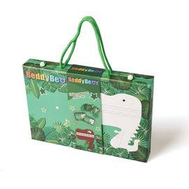 杯具熊 BEDDYBEAR杯具熊儿童萌宠款绘画套装礼盒 - 绿色恐龙款 儿童礼物  开学画画 彩绘 水彩笔 蜡笔 全积分兑换
