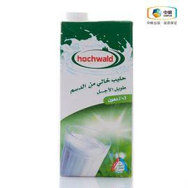 中粮 Hochwald 好沃德脱脂牛奶 德国进口 无脂肪 高品质 健康营养 早餐奶 安心奶 1L