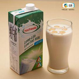 中粮 Hochwald好沃德低脂牛奶 滴滴香浓 科学工艺 (德国进口盒)1L