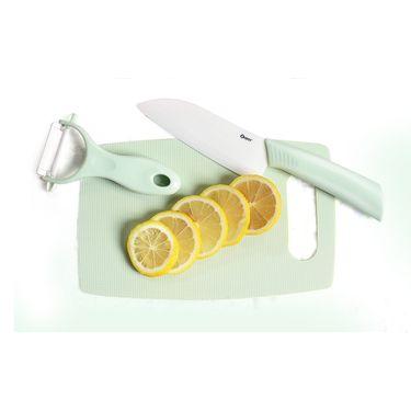 卓理 zolitt 陶瓷辅食刀 水果刀瓜果刀随身迷你家用削皮刀辅食刀具套装