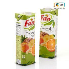 中粮 【中粮海外直采】Fan果芬热带复合果汁饮料1L   塞浦路斯进口