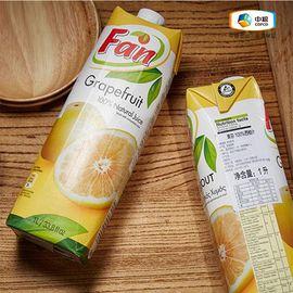 中粮 【中粮海外直采】Fan果芬西柚汁 1L  果汁 塞浦路斯进口