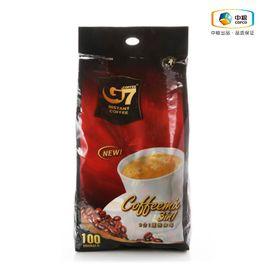 中粮 越南进口G7中原3合1速溶咖啡1600g 袋