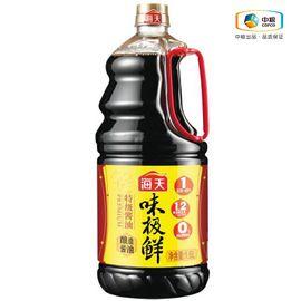 海天 味极鲜特级酱油1.6L 黄豆酿造酱油蒸鱼豉油
