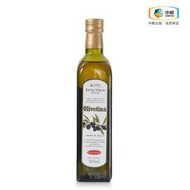 中粮  欧丽薇娜 特级初榨橄榄油  500ml 西班牙进口 优质橄榄油 口味纯正 营养健康 (ZHC)