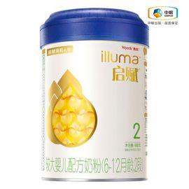 惠氏 启赋2段900g罐装 较大婴儿和幼儿配方奶粉适用于6-18月