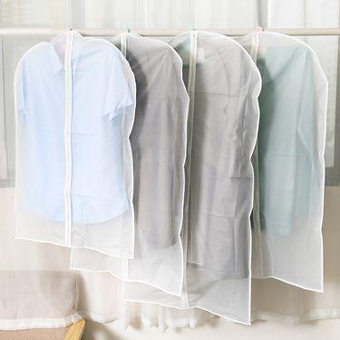 WORLD LIFE 日本衣物防尘罩大衣罩西服防尘袋挂衣袋3个装(不含衣架)