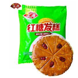 安井 红糖发糕 小米糕 传统手工糯米糕点心 冷冻广式早餐面点 700g克*2