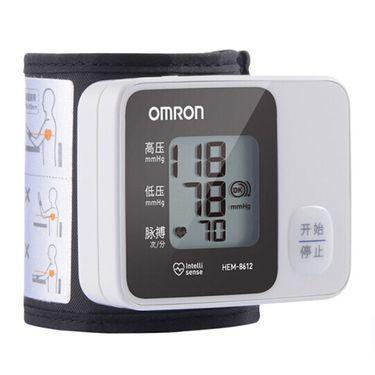 欧姆龙 (OMRON) 电子血压计 家用智能手腕式 HEM-8612(不含电源适配器)