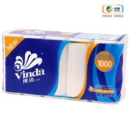 维达 超韧系列100g无芯卫生纸 10卷/提