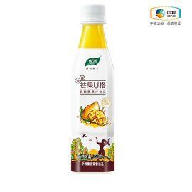 中粮 悦活芒果U格乳酸菌果汁饮品 酸甜口味 口感爽滑 350ml