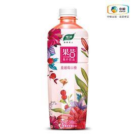 中粮 悦活果昔蔓越莓山楂果汁饮品  500ml 浓浓果昔 自然舒畅 酸酸甜甜