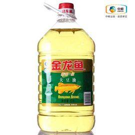 金龙鱼 精炼一级大豆油(桶装 5L) 食用油 精选原料 健康品质