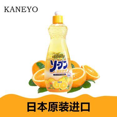 家耐优  KANEYO 橙香果蔬 餐具洗洁精 600ml/瓶 (日本原装进口)/KN-002