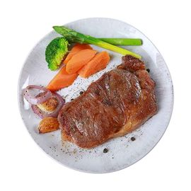 kiwifarm 奇异农庄 新西兰进口 原切西冷*5肉眼*5 牛排10片装组合1500g 无腌制 送酱汁