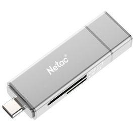 朗科 Netac P301读卡器2.0高速多合一万能相机SD卡U盘迷你安卓手机OTGU盘
