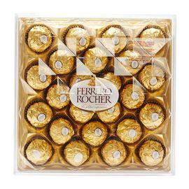 中粮 【海外直采】FERRERO ROCHER费列罗榛果威化巧克力钻石装24粒300g(意大利进口 盒)