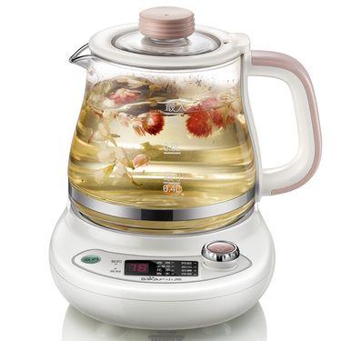 小熊YSH-A08G1 养生壶 多功能迷你煮茶壶 玻璃电水壶养身燕窝煲0.8L