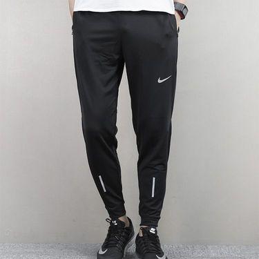 耐克 Nike薄款男裤新款运动弹力训练透气小脚收口反光银长裤857839  奇欢体育