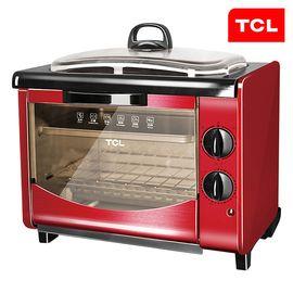 TCL 锋味电烤箱家用多功能9L迷你烘培小烤箱TKX-J1127A