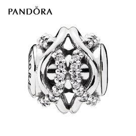 PANDORA 潘多拉 925银 -关怀银色串珠796072CZ
