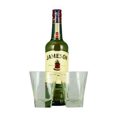 JAMESON 尊美醇  爱尔兰威士忌700ml礼盒套装