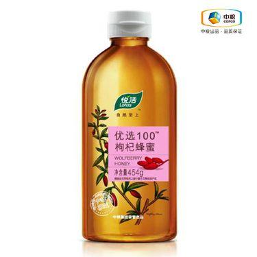 中粮 悦活 优选100枸杞蜂蜜454g