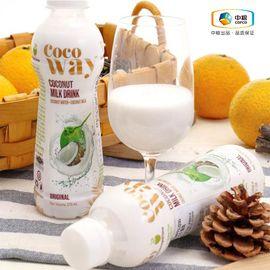 中粮 Cocoway 可可维原味椰子乳饮料(椰味浓郁,口感纯正、不添加防腐剂)270ml (泰国进口 瓶)