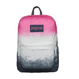 JANSPORT 杰斯伯 男女款双肩背包校园休闲包书包 T501 0B3 多彩色粉红色阴影