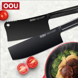 OOU 两件套自组(黑刃砍骨刀+菜刀)